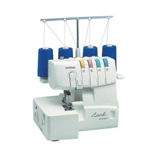 Serger 3or4 Thread Easy Lay In