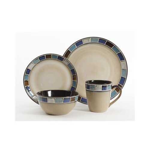 Azul 16pc Dinnerware Set