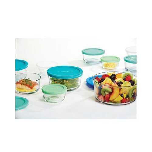 Food Storage Set 20pc Blu/grn