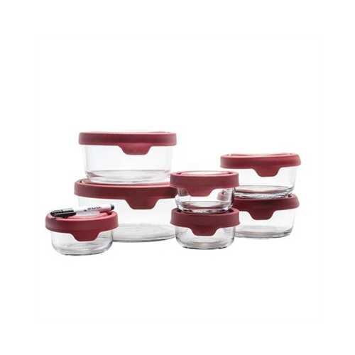 Food Storage Set 15pc DryErase