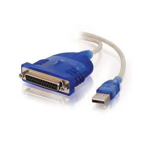 6' USB to DB25 IEEE1284 Cable
