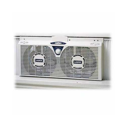 """8"""" Electric Twin Fan With Thermo"""