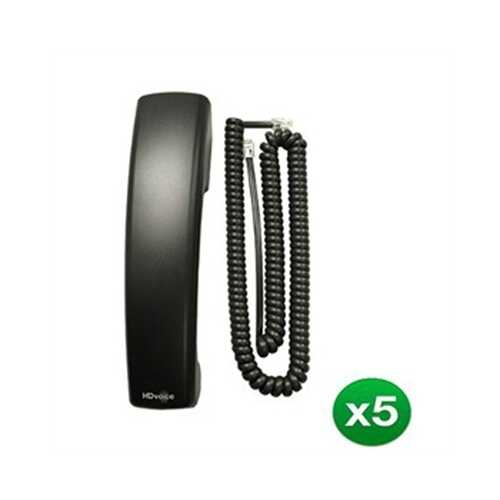 5 PK HDVoice Handset and Cord
