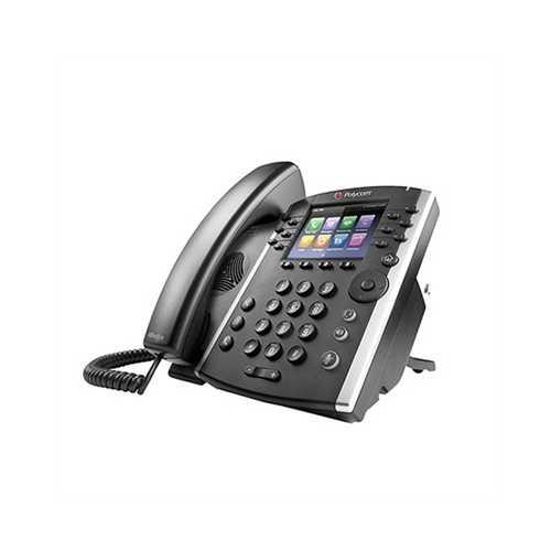 VVX 411 Desktop Phone POE