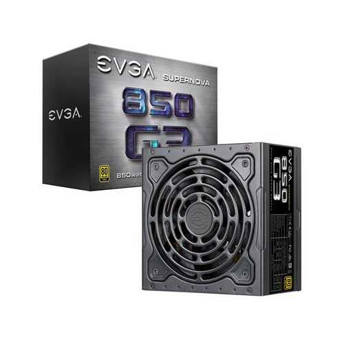 Evga G3 850 Watt Power Supply