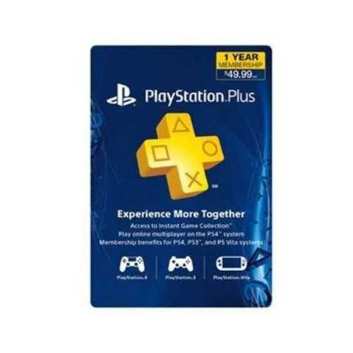 Sony PS Plus 12 Month Card
