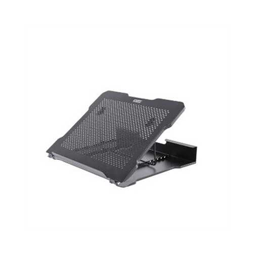Metal Art Adj Laptop Stand Blk