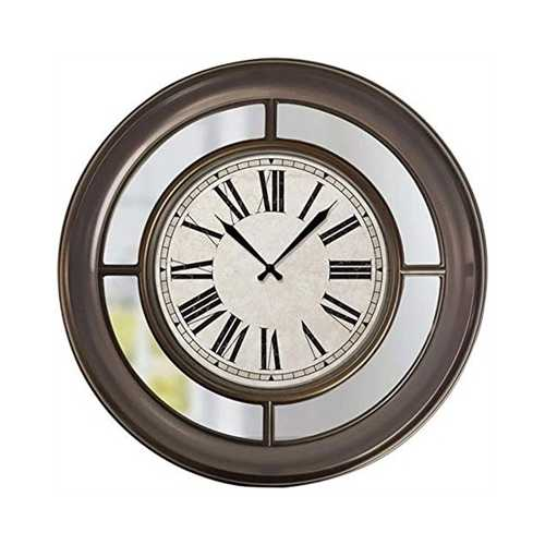 "22"" Wall Clock With Mirror"