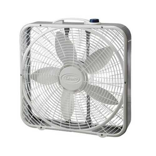 """20"""" Power Plus Box Fan 3 Speed"""
