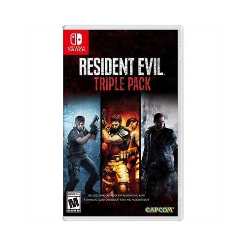 Resident Evil Triple Pack NSW