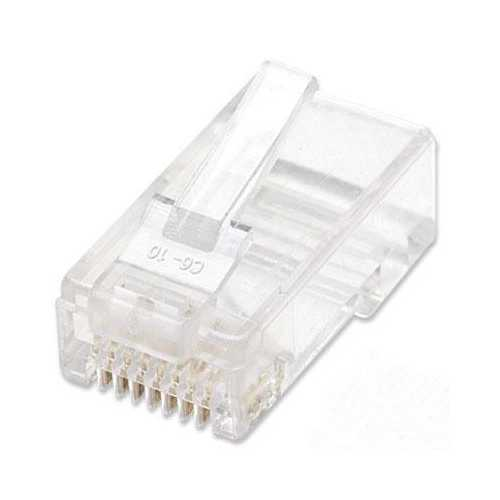 3 Prong Cat5e Modular Plugs