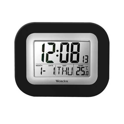 LCD Wall Alarm Clock