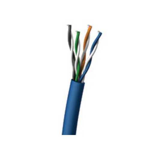 1000' CAT 6 PVC Cable Blue