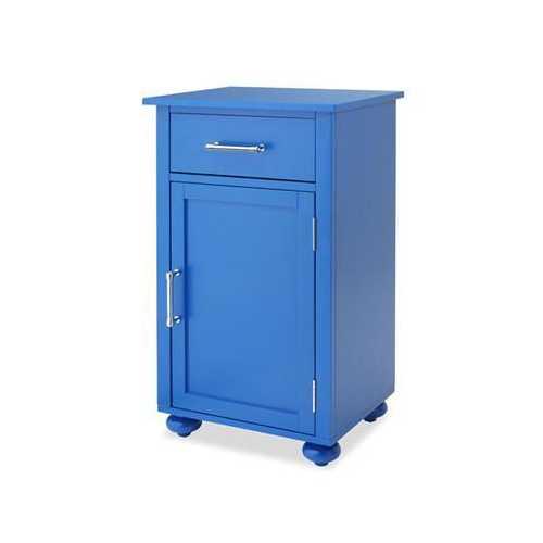 Sngl Door Storage Cabnt Blue