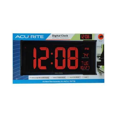 "AcuRite Digital 18"" Wall Clock"