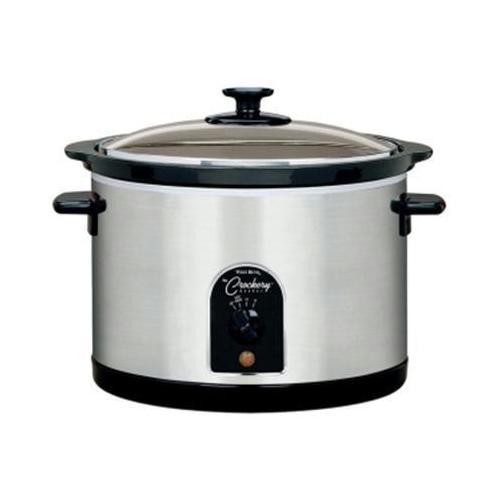 Wb 6 Qt. Round Crockery Cooker
