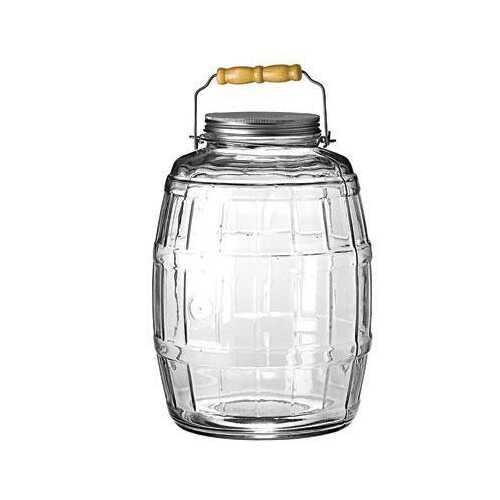 Barrel Jar W&#47 Lid 2.5gal