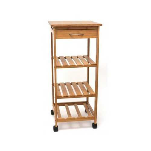 Bamboo Cart With Drawer