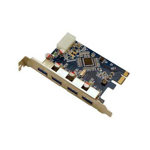 4 Port USB 3.0 Pcie Int Card