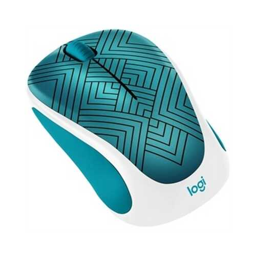 Design Coll Wrlss Mouse Teal