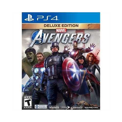 Marvel Avengers Deluxe Ed PS4
