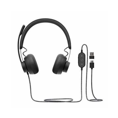 Zone Wired USB Headset UC Cert