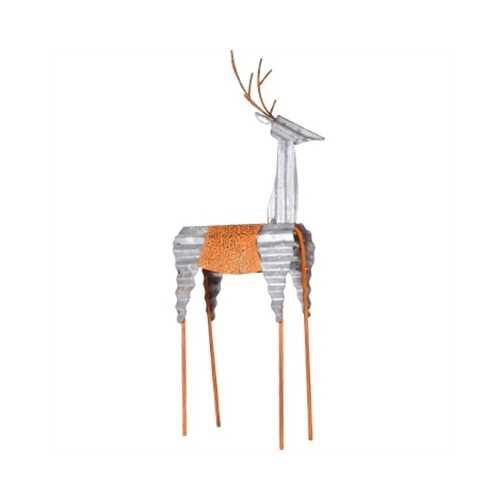 "GT 30""H Metal Deer Decoration"