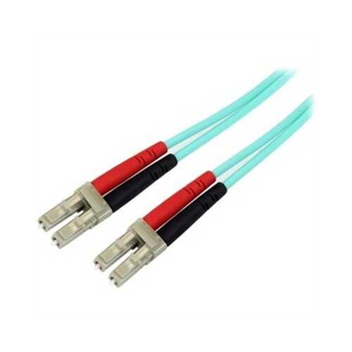 10m LC Aqua Fiber Patch Cable