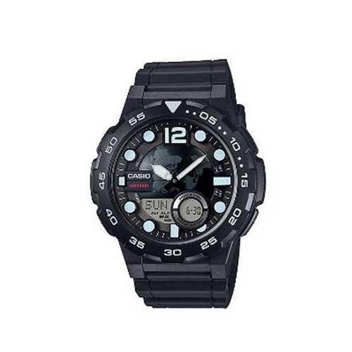 Mens Black Ana Digi Watch
