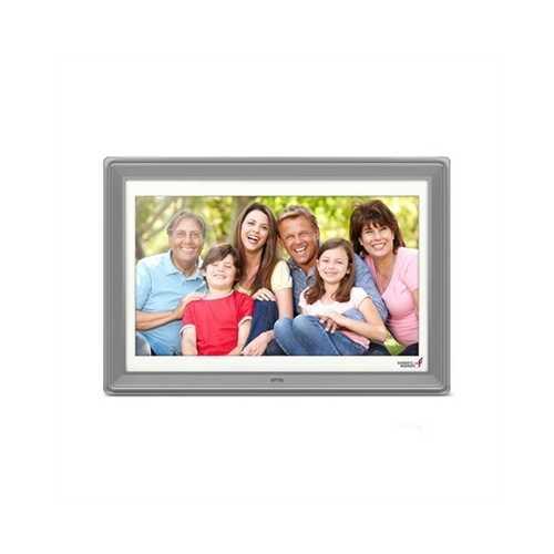 "10"" Digital Photo Frame Silver"