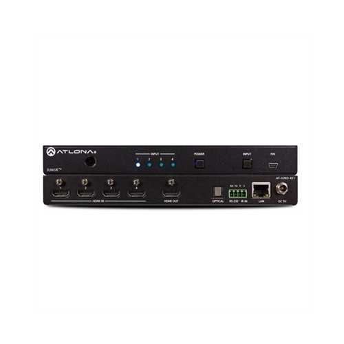 4K HDR FourInput HDMI Switcher