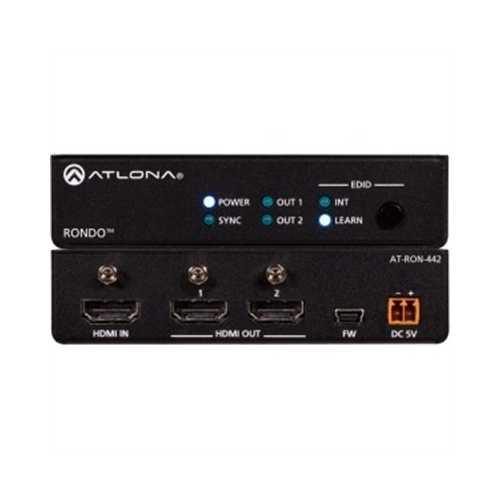 4K HDR TwoOutput HDMI Dist Amp