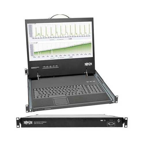 """1u Short Kvm Console With 19"""" Lcd"""
