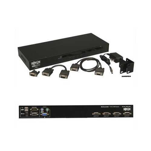 4 Port USB Ps2 Kvm Switch