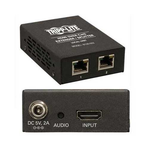2Port HDMI Over Cat5 Extender