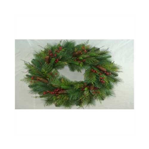 "GT 30""Dia. Mixed Pine Wreath"