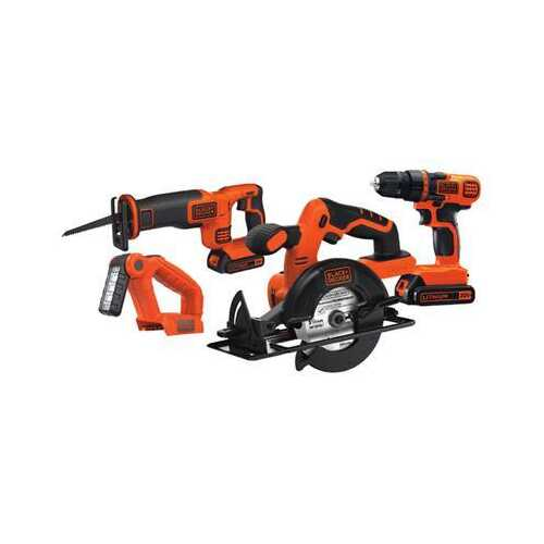 BD Crdlss Lithium Ion 4 Tool