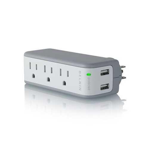 3out 2usb Mini Surge USB Charg