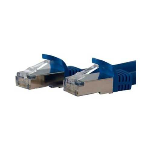 10' Blue Cat6a Patch Cable