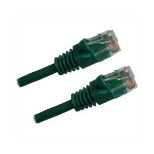50' CAT5e Patch Cable Green