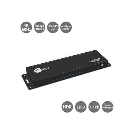 1x8 HDMI 2.0 HDR Dstrbtn Amp