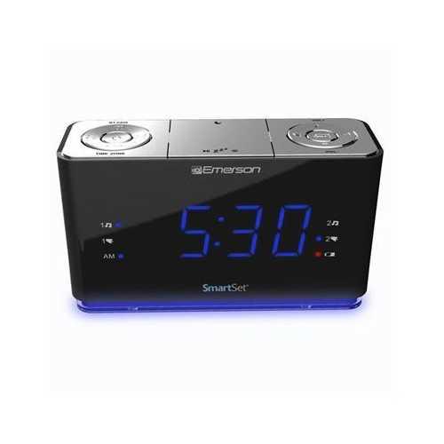 SmartSet Alarm Clock BT USB