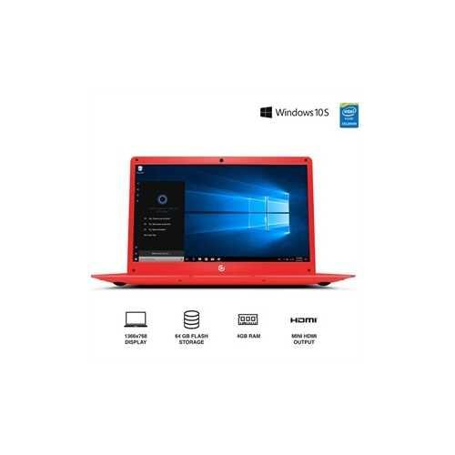 """14.1"""" Laptop Red"""