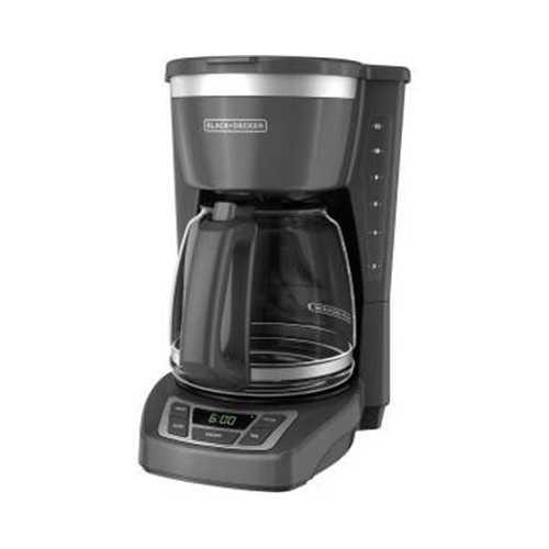 BD Drip Coffeemaker SS Gray