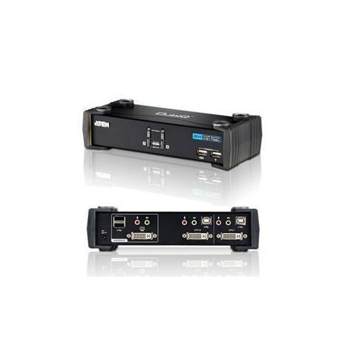 2 Port DVI D KVMP with USB