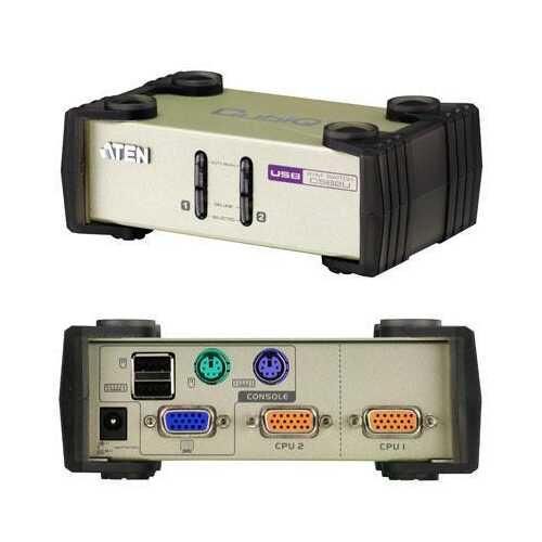 2 Port USB PS 2 KVM
