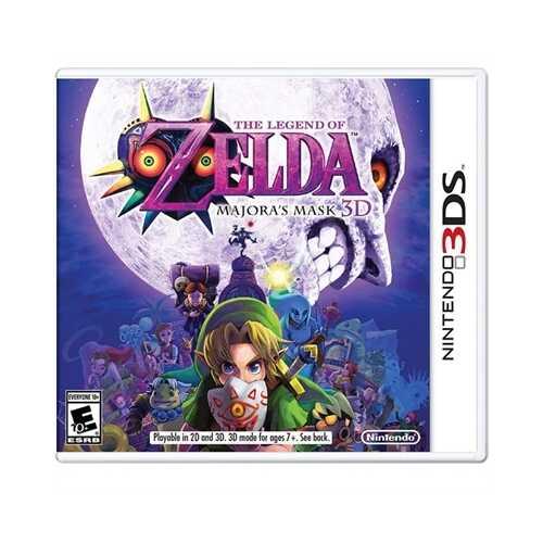 Legend Zelda Majora Mask3D 3DS