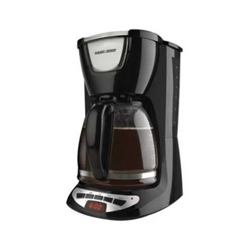 BD 12c Prog CoffeeMkrGlsCrfBlk