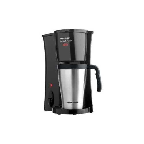 BD BrewNGo 15oz Coffeemaker SS