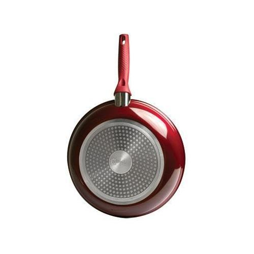 """Bliss 11"""" Fry Pan Red"""